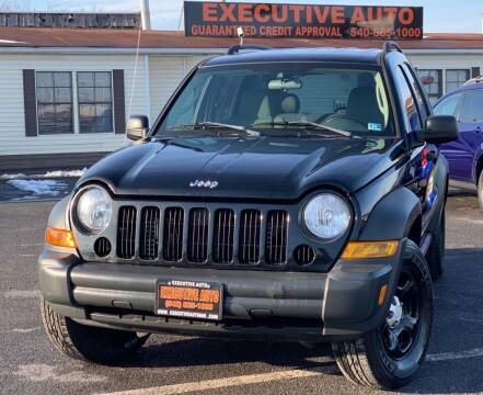 2006 Jeep Liberty for sale at Executive Auto in Winchester VA
