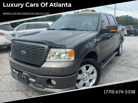 2007 Ford F-150 for sale at Luxury Cars of Atlanta in Snellville GA