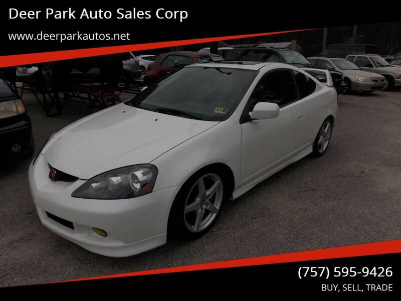2005 Acura RSX for sale at Deer Park Auto Sales Corp in Newport News VA