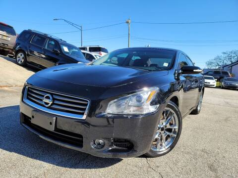 2012 Nissan Maxima for sale at Philip Motors Inc in Snellville GA