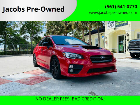 2016 Subaru WRX for sale at Jacobs Pre-Owned in Lake Worth FL