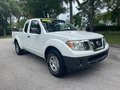 2017 Nissan Frontier for sale at DELRAY AUTO MALL in Delray Beach FL