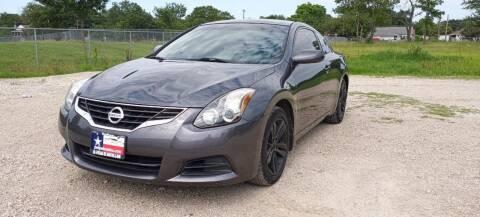 2011 Nissan Altima for sale at LA PULGA DE AUTOS in Dallas TX