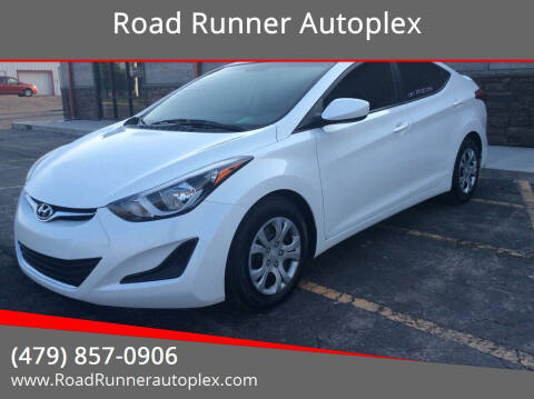 2016 Hyundai Elantra for sale at Road Runner Autoplex in Russellville AR
