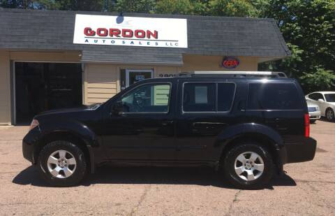 2006 Nissan Pathfinder for sale at Gordon Auto Sales LLC in Sioux City IA