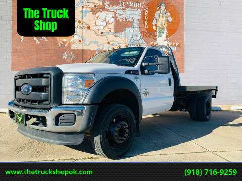 2015 Ford F-450 Super Duty for sale at The Truck Shop in Okemah OK