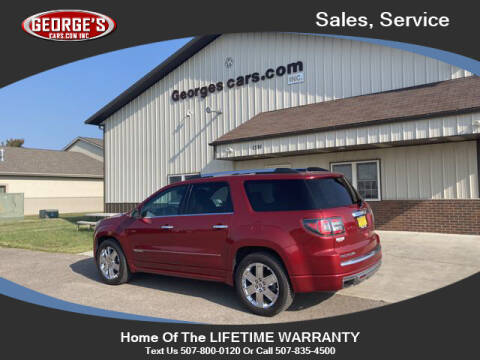 2014 GMC Acadia for sale at GEORGE'S CARS.COM INC in Waseca MN