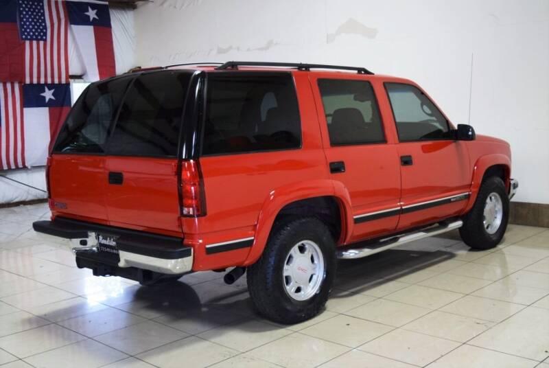 1999 GMC Yukon 4dr SLT 4WD SUV - Houston TX