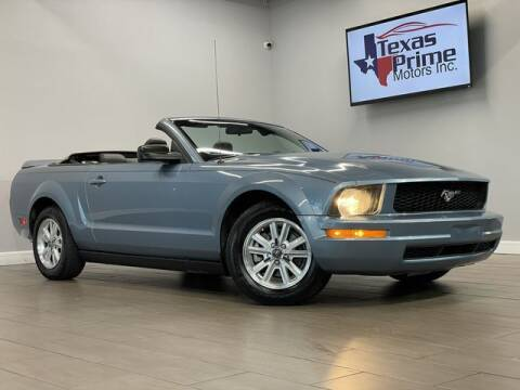 2007 Ford Mustang for sale at Texas Prime Motors in Houston TX