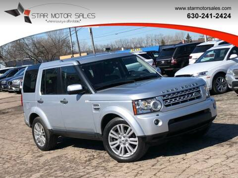 2013 Land Rover LR4 for sale at Star Motor Sales in Downers Grove IL