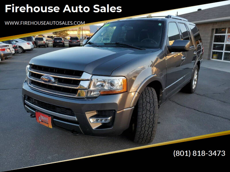 2016 Ford Expedition for sale at Firehouse Auto Sales in Springville UT