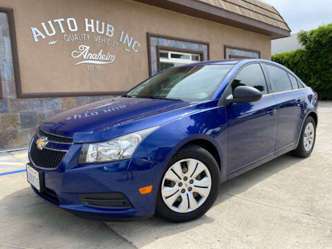2012 Chevrolet Cruze for sale at Auto Hub, Inc. in Anaheim CA