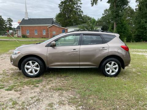 2009 Nissan Murano for sale at Joye & Company INC, in Augusta GA