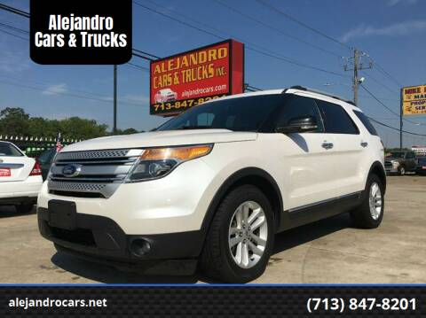 2013 Ford Explorer for sale at Alejandro Cars & Trucks in Houston TX
