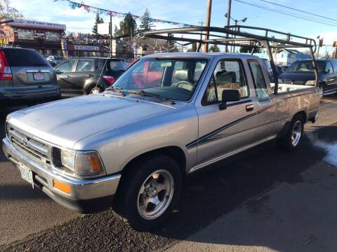 1992 Toyota Pickup for sale at Chuck Wise Motors in Portland OR