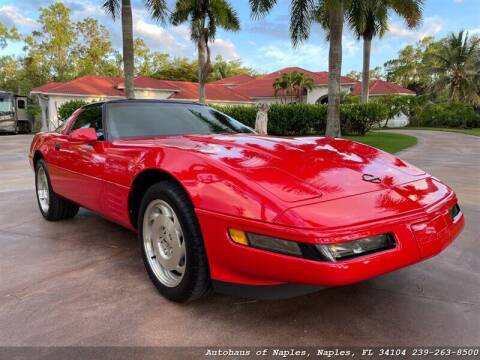 1994 Chevrolet Corvette for sale at Autohaus of Naples in Naples FL