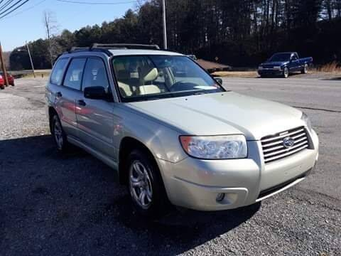 2007 Subaru Forester for sale at Rocket Center Auto Sales in Mount Carmel TN