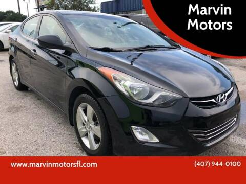 2013 Hyundai Elantra for sale at Marvin Motors in Kissimmee FL