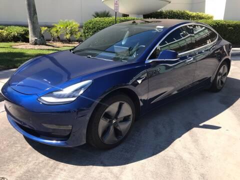 2018 Tesla Model 3 for sale at Florida Coach Trader Inc in Tampa FL