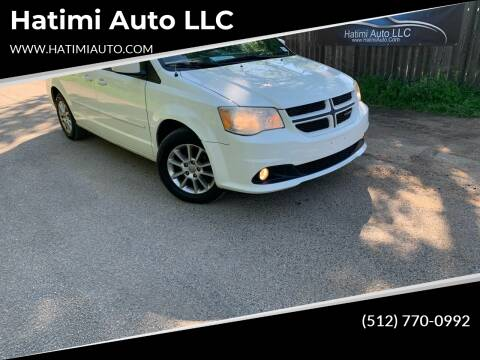 2011 Dodge Grand Caravan for sale at Hatimi Auto LLC in Buda TX