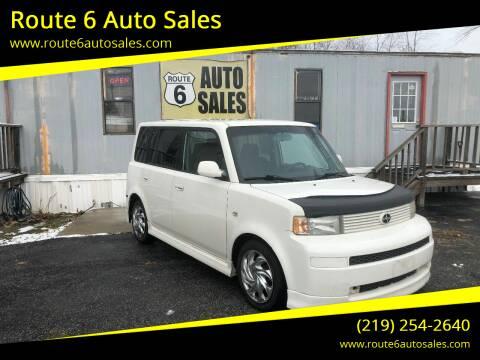 2006 Scion xB for sale at Route 6 Auto Sales in Portage IN