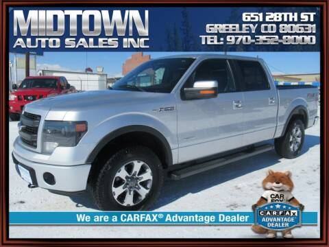 2014 Ford F-150 for sale at MIDTOWN AUTO SALES INC in Greeley CO