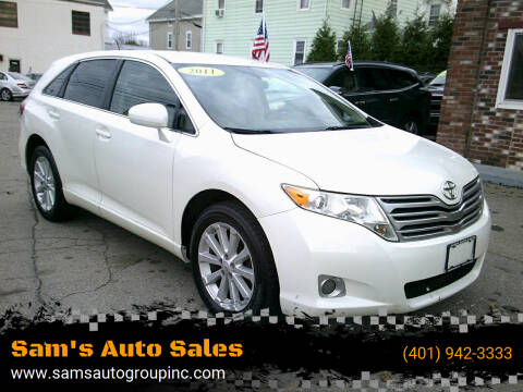 2011 Toyota Venza for sale at Sam's Auto Sales in Cranston RI