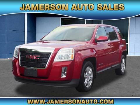 2014 GMC Terrain for sale at Jamerson Auto Sales in Anderson IN
