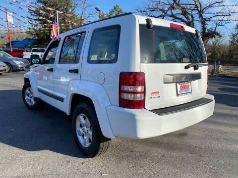 2011 Jeep Liberty for sale at Johnson Car Company llc in Crown Point IN