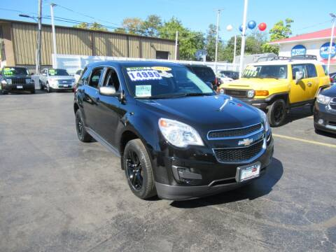 2015 Chevrolet Equinox for sale at Auto Land Inc in Crest Hill IL