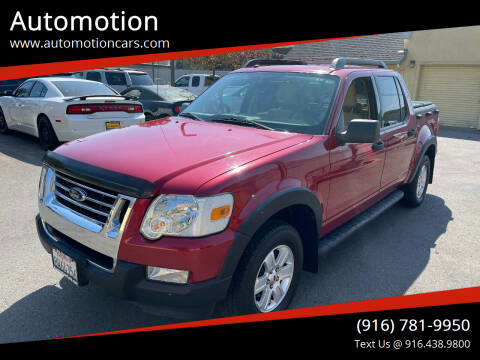 2009 Ford Explorer Sport Trac for sale at Automotion in Roseville CA
