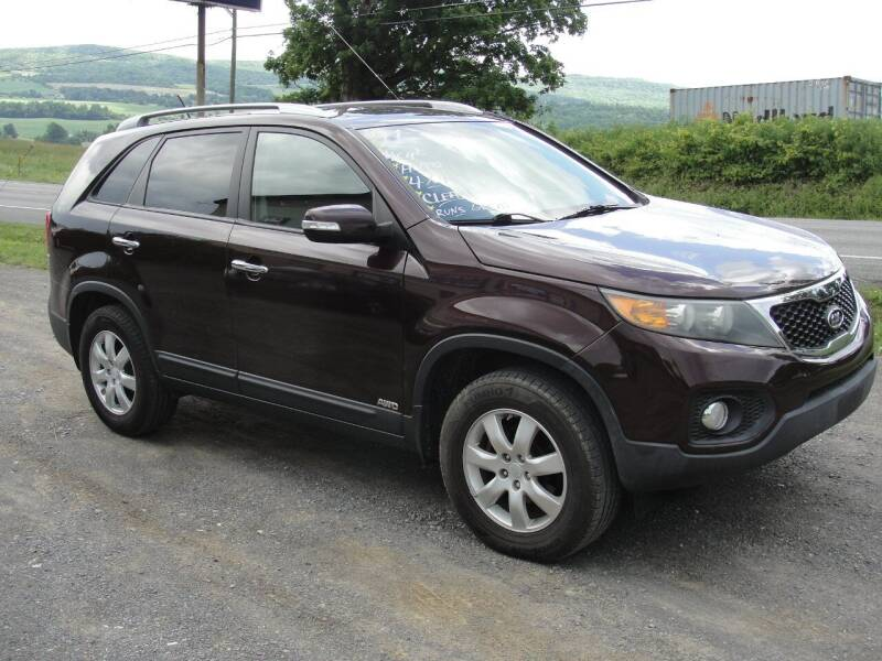 2011 Kia Sorento for sale at Turnpike Auto Sales LLC in East Springfield NY