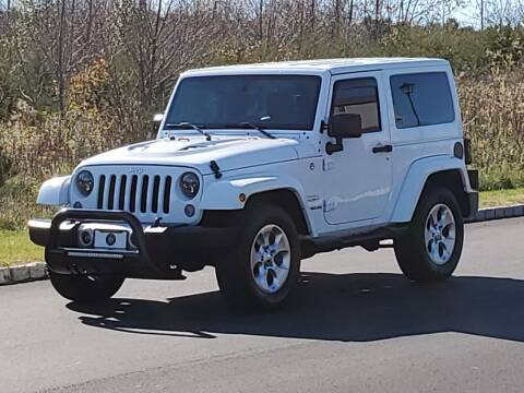 2015 Jeep Wrangler for sale at R & R AUTO SALES in Poughkeepsie NY