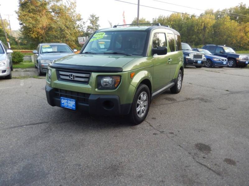 2008 Honda Element for sale at East Coast Auto Trader in Wantage NJ