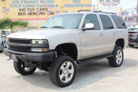 2006 Chevrolet Tahoe for sale at FJ Auto Sales in North Hollywood CA