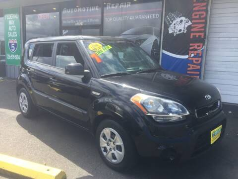 2013 Kia Soul for sale at Federal Way Auto Sales in Federal Way WA