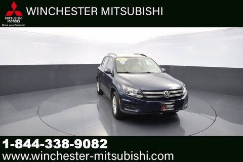 2016 Volkswagen Tiguan for sale at Winchester Mitsubishi in Winchester VA