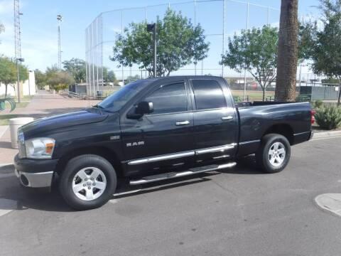 2008 Dodge Ram Pickup 1500 for sale at J & E Auto Sales in Phoenix AZ