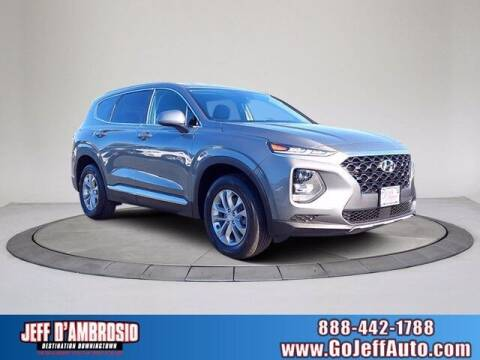 2019 Hyundai Santa Fe for sale at Jeff D'Ambrosio Auto Group in Downingtown PA