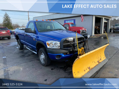 2008 Dodge Ram Pickup 2500 for sale at Lake Effect Auto Sales in Chardon OH