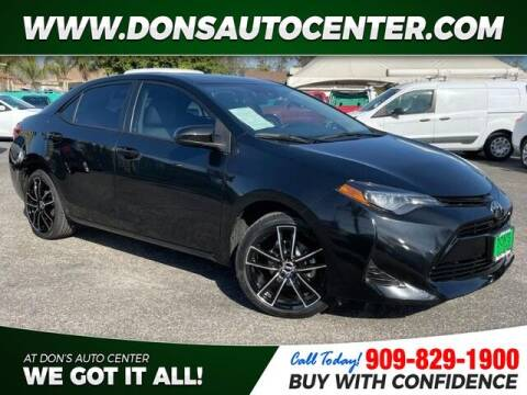 2019 Toyota Corolla for sale at Dons Auto Center in Fontana CA