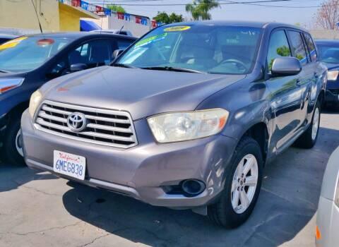 2009 Toyota Highlander for sale at Apollo Auto El Monte in El Monte CA