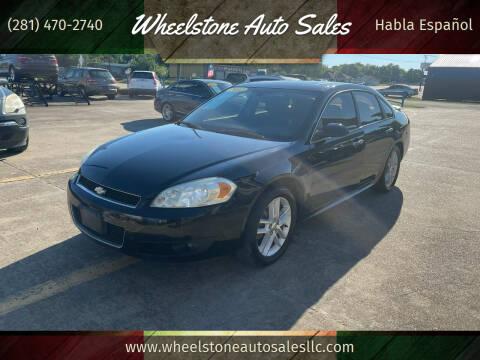 2012 Chevrolet Impala for sale at Wheelstone Auto Sales in La Porte TX