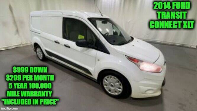 2014 Ford Transit Connect Cargo for sale at D&D Auto Sales, LLC in Rowley MA