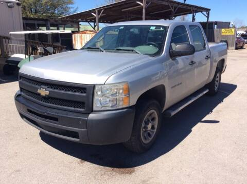 2010 Chevrolet Silverado 1500 for sale at OASIS PARK & SELL in Spring TX