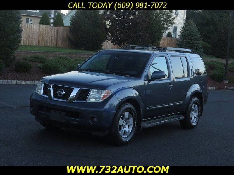 2005 Nissan Pathfinder for sale at Absolute Auto Solutions in Hamilton NJ