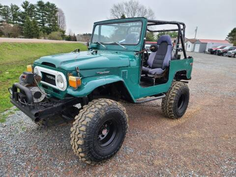 1976 Toyota Land Cruiser for sale at Shinkles Auto Sales & Garage in Spencer WI