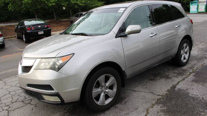 2010 Acura MDX for sale at NORCROSS MOTORSPORTS in Norcross GA