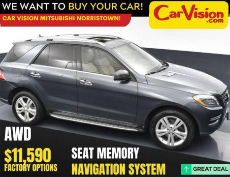 2013 Mercedes-Benz M-Class for sale at Car Vision Mitsubishi Norristown in Trooper PA