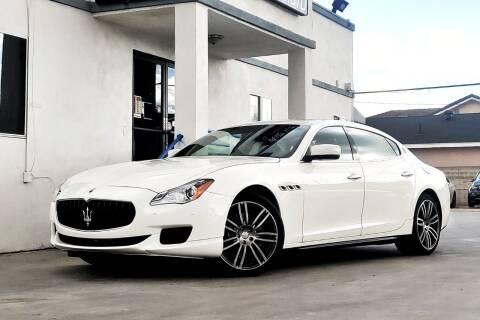 2016 Maserati Quattroporte for sale at Fastrack Auto Inc in Rosemead CA